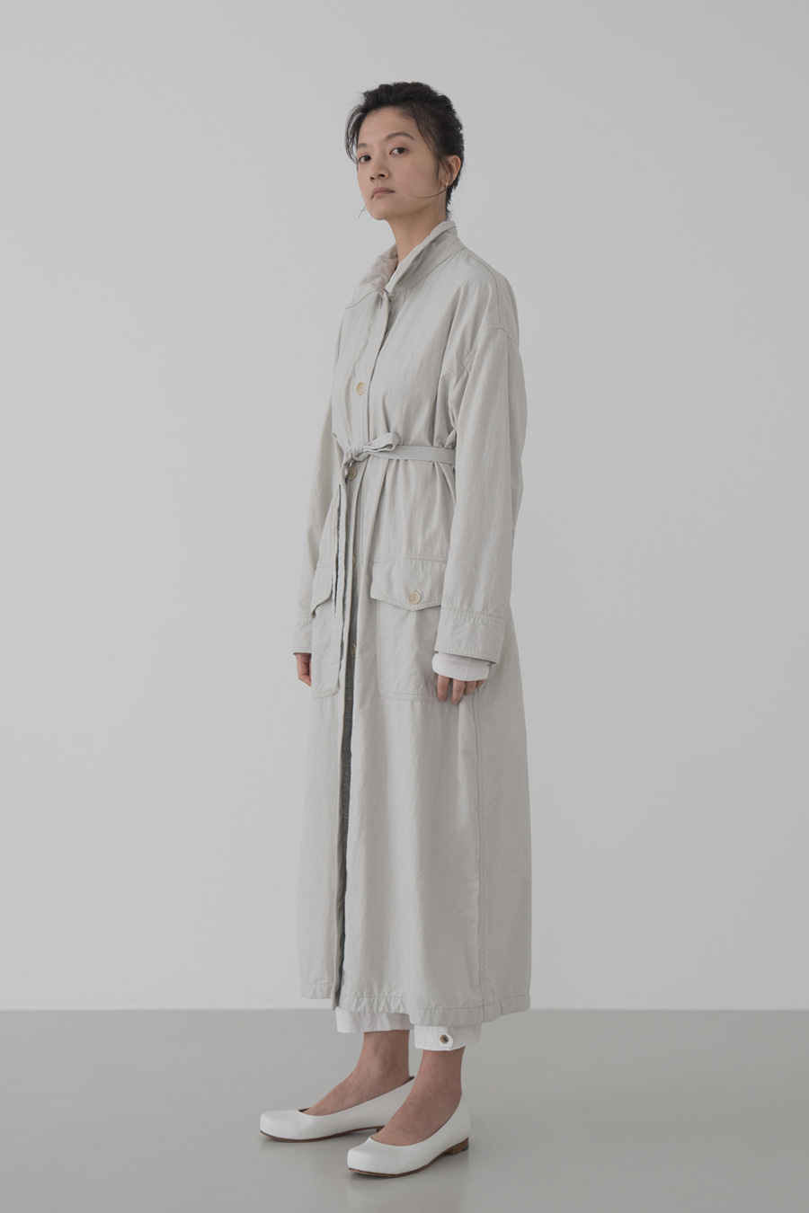 new lucid trench coat(IVORY)