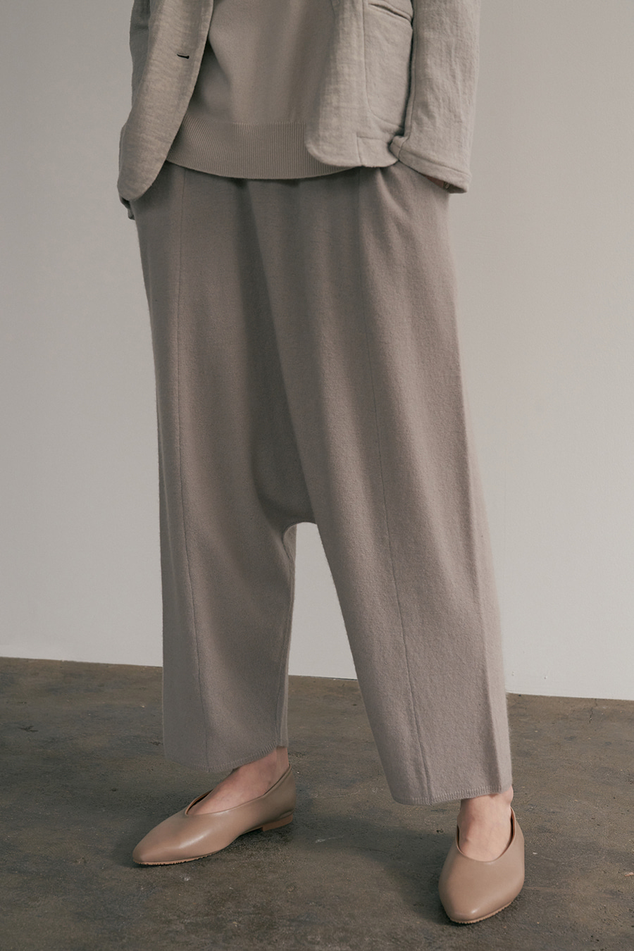 margaret knit baggy pants