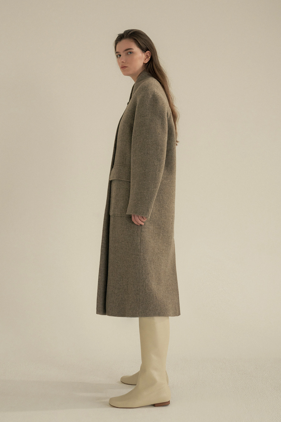 tommy loop button coat