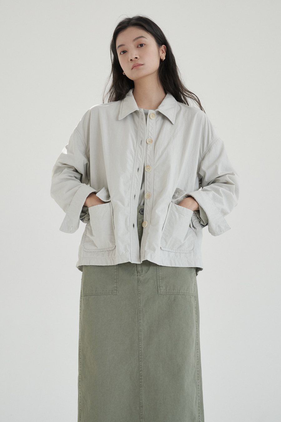 new lucid short jacket(2colors)