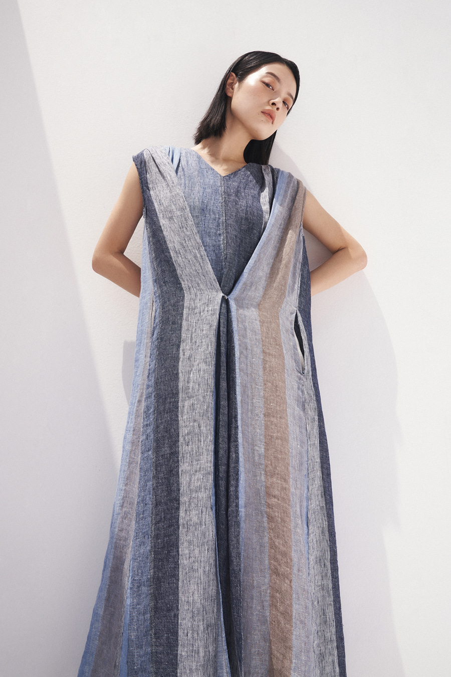 wide linen one-piece [20SS Season-off 30%]