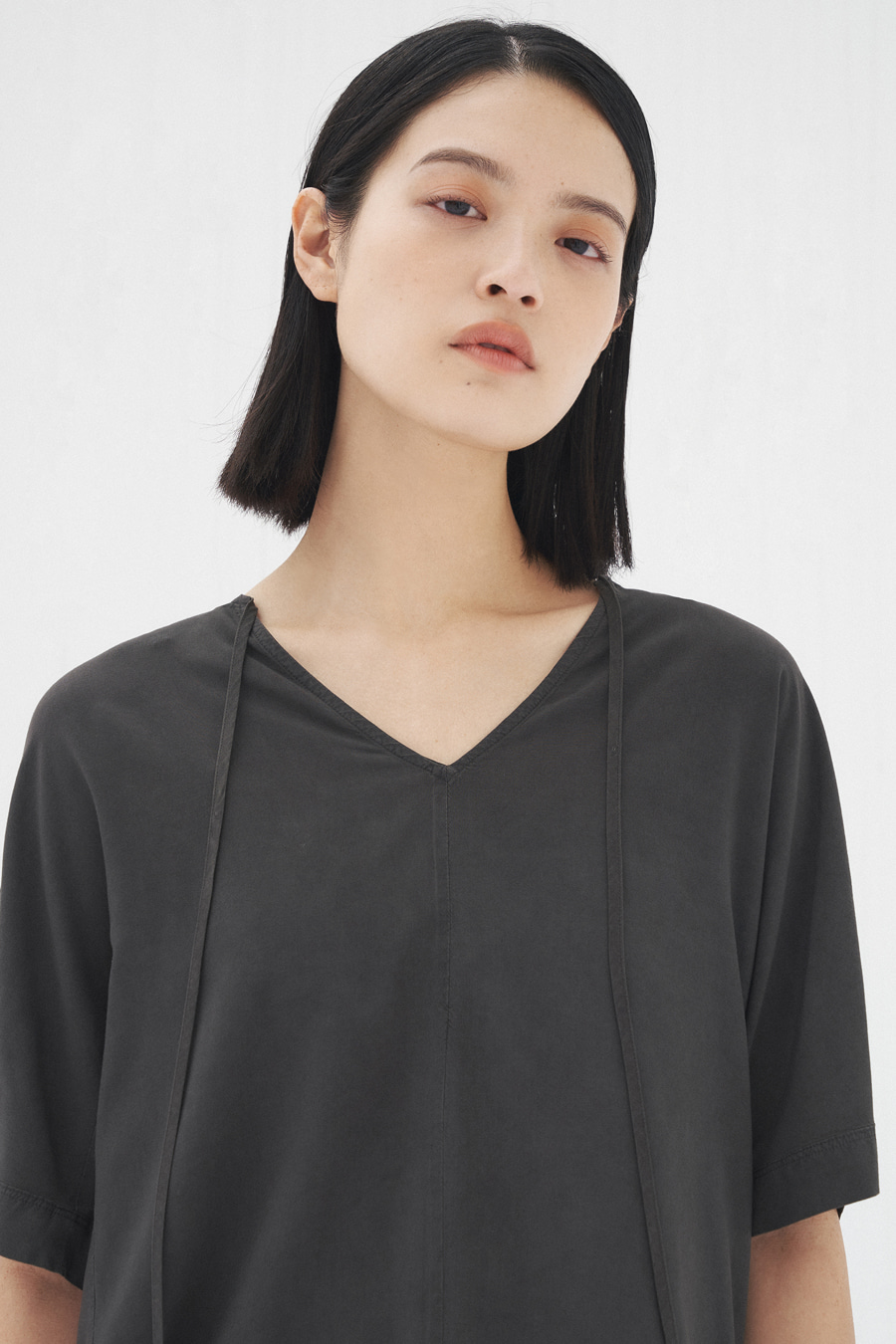 shadow string blouse