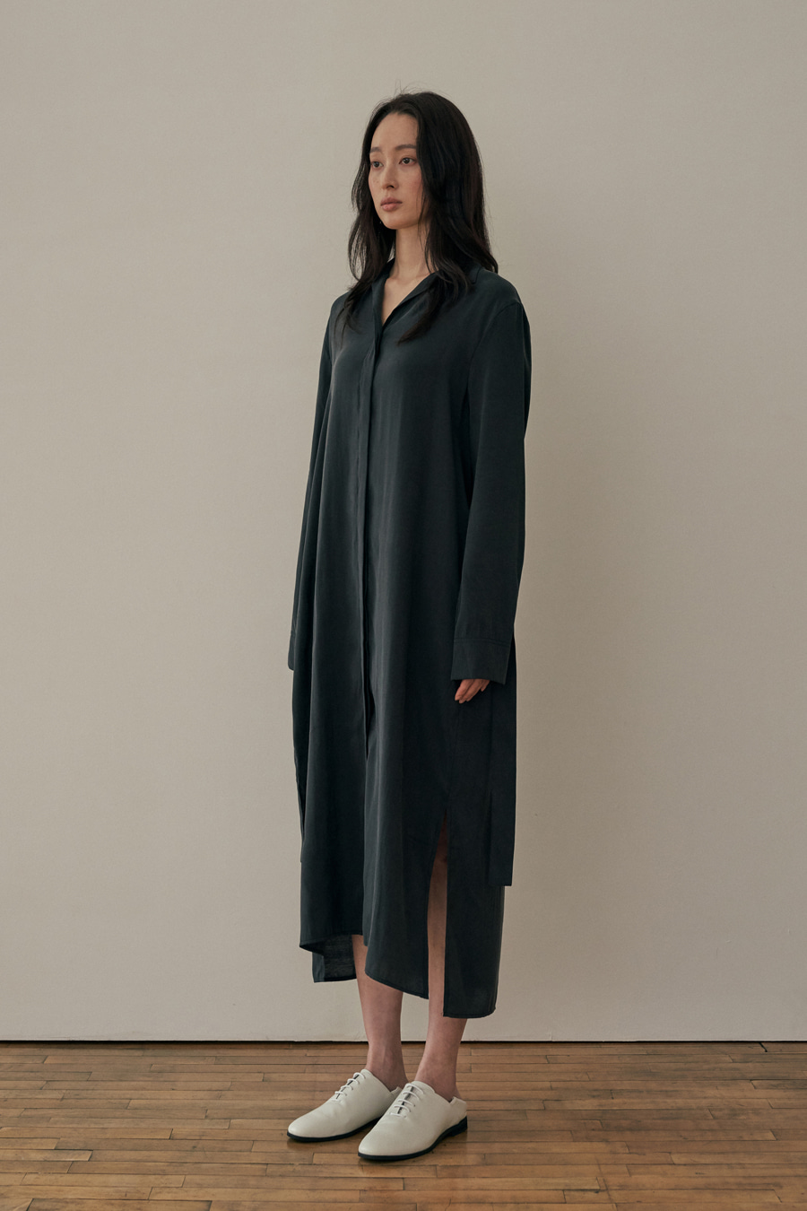 cupra long shirt one-piece