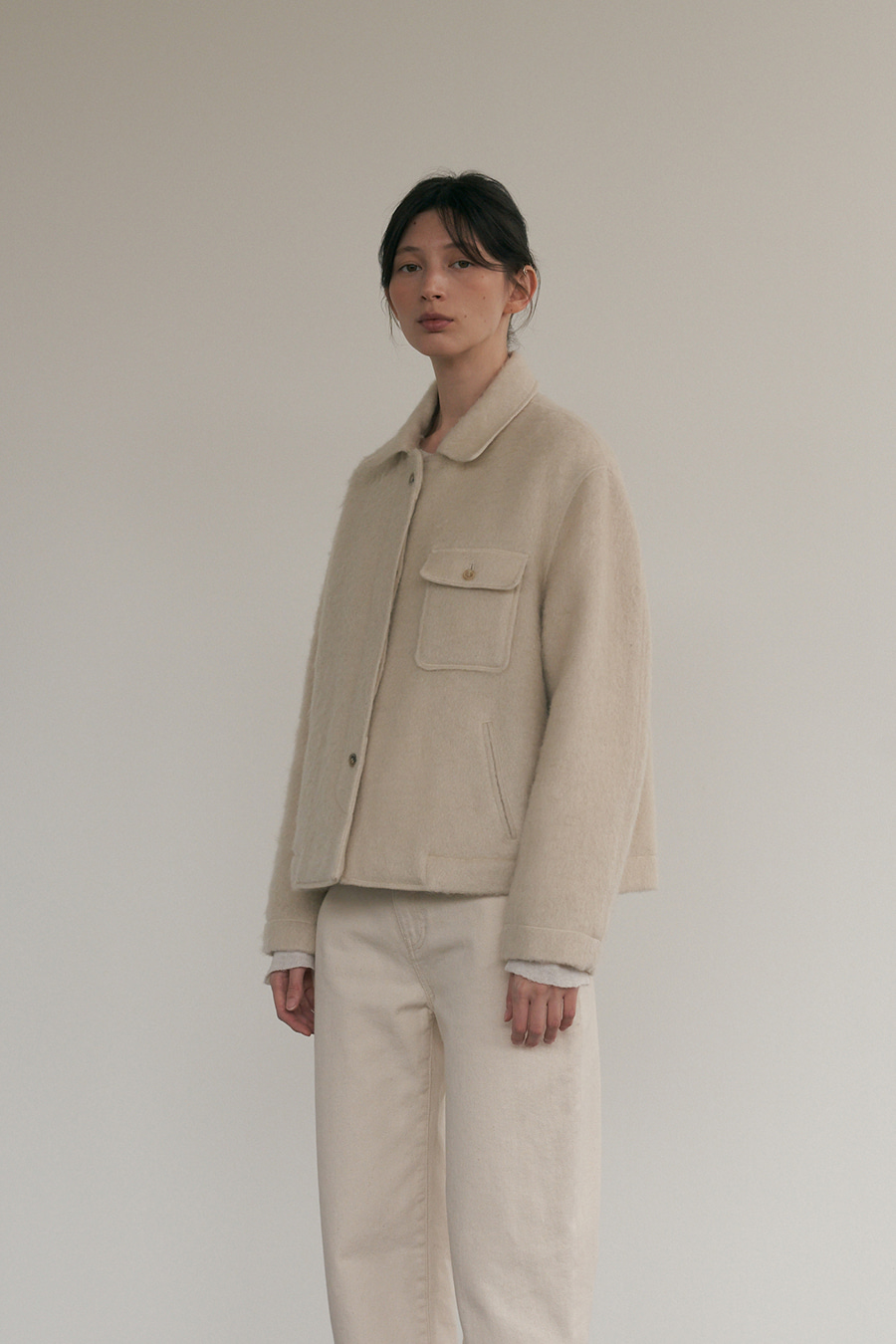 dewey wool jacket
