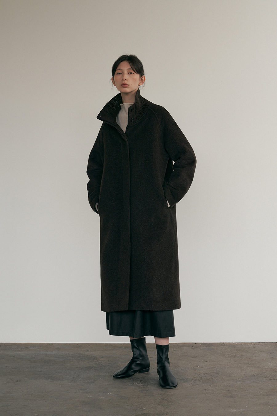 helen sibory-neck coat [11/13 입고예정]