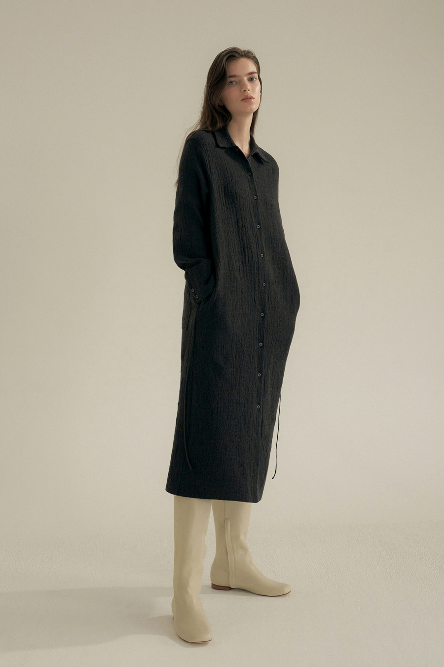 andew long shirt one-piece