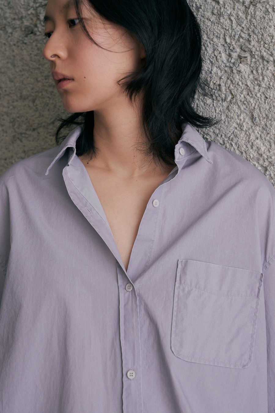 essential loose-fit shirt [2/18 입고예정]