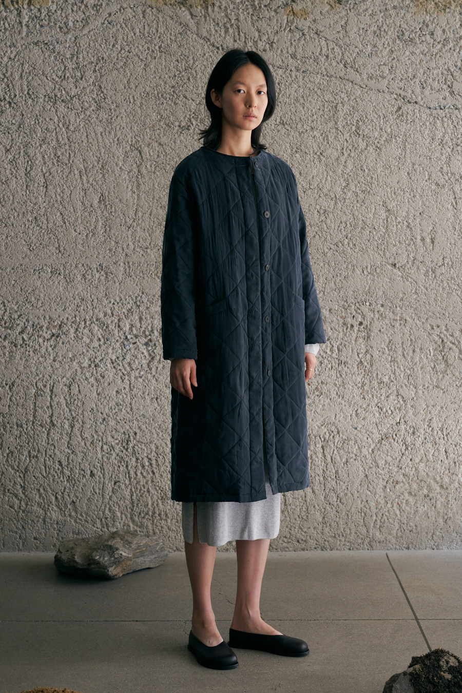 light quilting coat