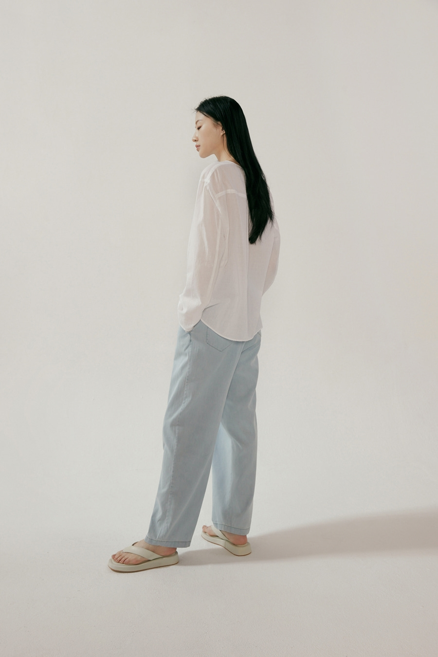 mar tencel denim pants [4/28 입고예정]